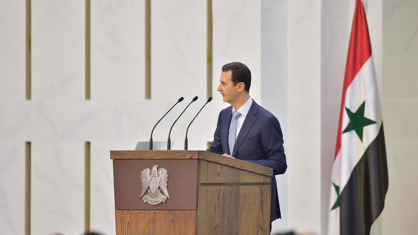 Башар Асад: Россия поможет спасти Сирию от разрушения
