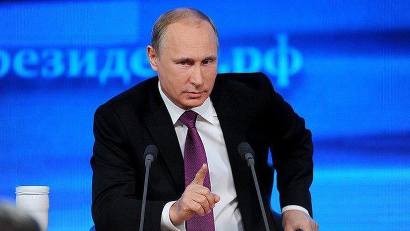 Владимир Путин: Кризис будет продолжаться до тех пор, пока сами украинцы не договорятся между собой