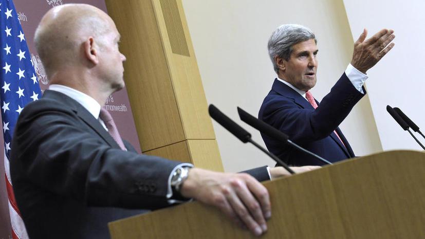Джон Керри: США скептически относятся к предложению о передаче под международный контроль химоружия в Сирии