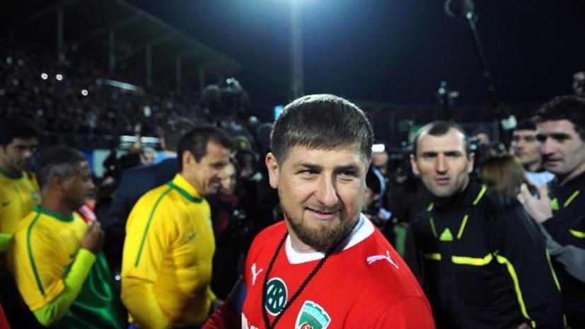 «Терек» получит штраф за высказывания Рамзана Кадырова