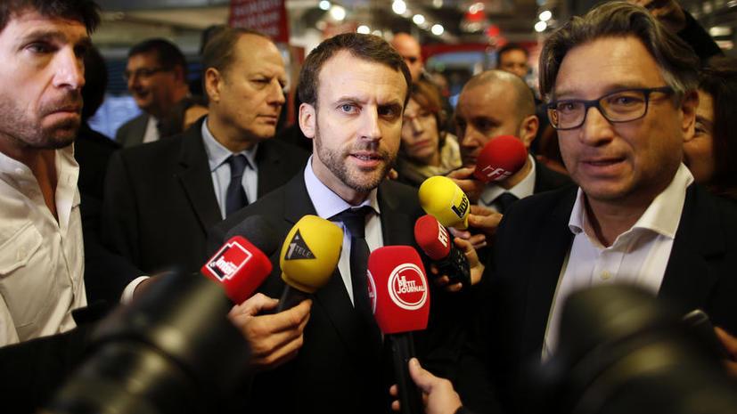 Министр экономики: Франция будет добиваться снятия санкций с России к лету 2016 года