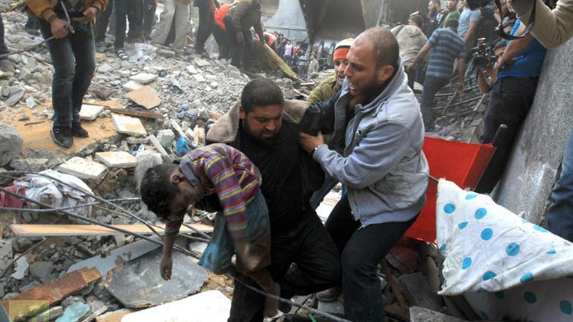 Израиль признал, что убивает мирных жителей в секторе Газа