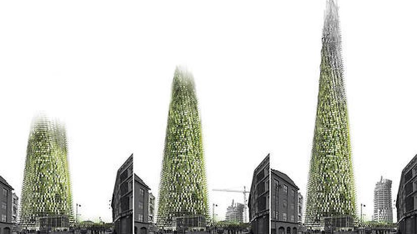 Самостроящийся органический небоскрёб появится в Лондоне