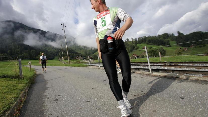 Итальянец покорил Эльбрус за 3,5 часа