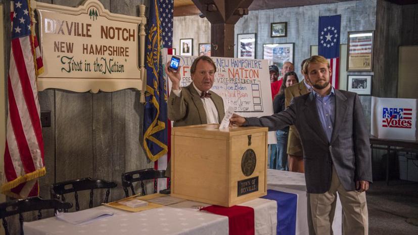 В США открылись первые избирательные участки