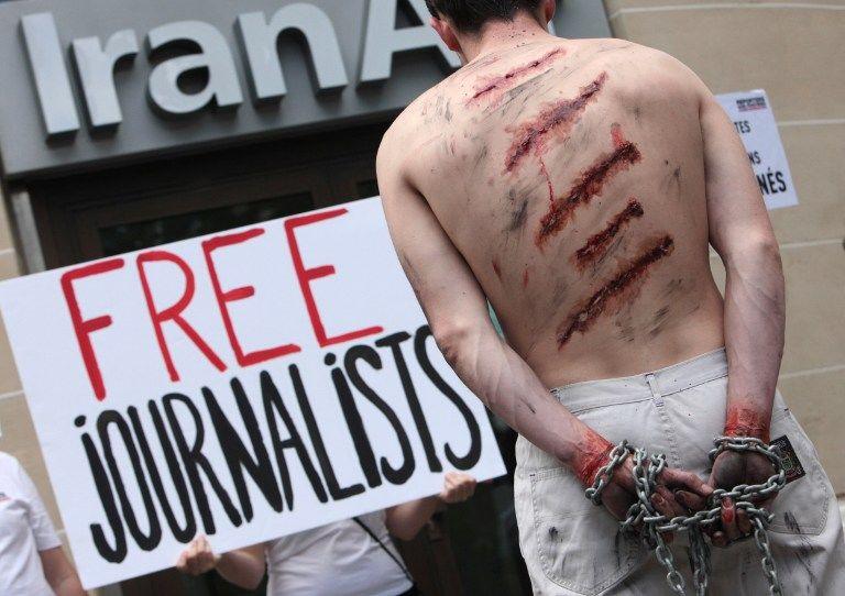 Иран освободил из заключения 14 журналистов