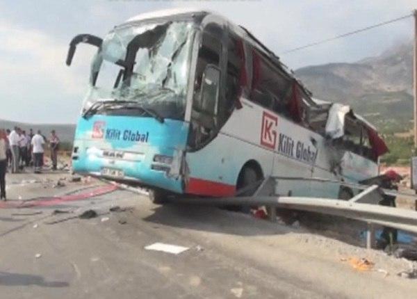 Посольство РФ в Турции уточнило данные о ДТП: трое туристов из РФ погибли, 23 ранены