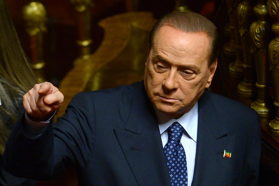 Сильвио Берлускони: Мои дети чувствуют себя, как евреи в гитлеровской Германии