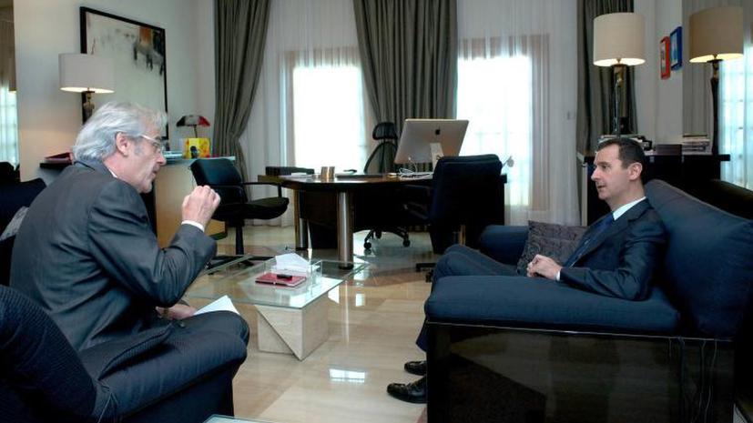 Башар Асад: Необходимо различать оппозицию и террористов