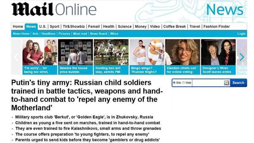 Британские СМИ окрестили детский спортклуб в Подмосковье «маленькой армией Путина»