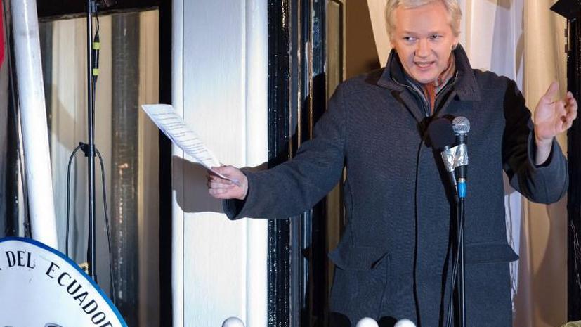 Ассанж обнародовал документы секретной службы Великобритании, подтверждающие его невиновность