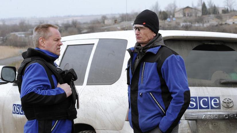 ОБСЕ: Украинские силовики обстреляли из миномётов село Широкино