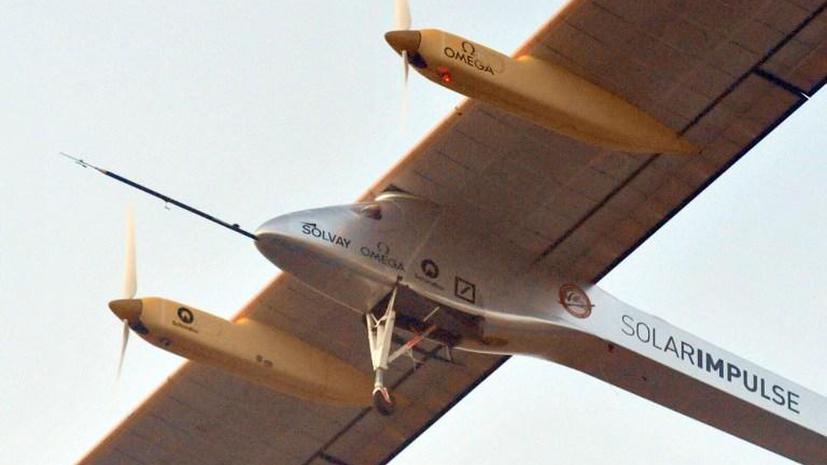 У самолёта Solar Impulse возникли технические неполадки