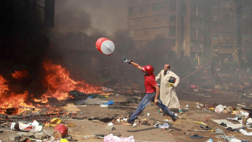 В беспорядках в египетском курортном городе Хургада погиб человек