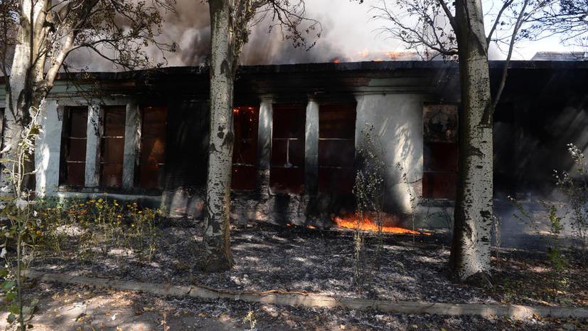 Конфликт на Украине: в Донецке ночью шли бои, в Луганске в результате обстрела погибли три человека