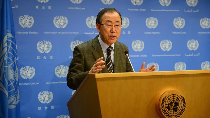 Генсек ООН: Делегация Ирана приглашена на конференцию «Женева-2»