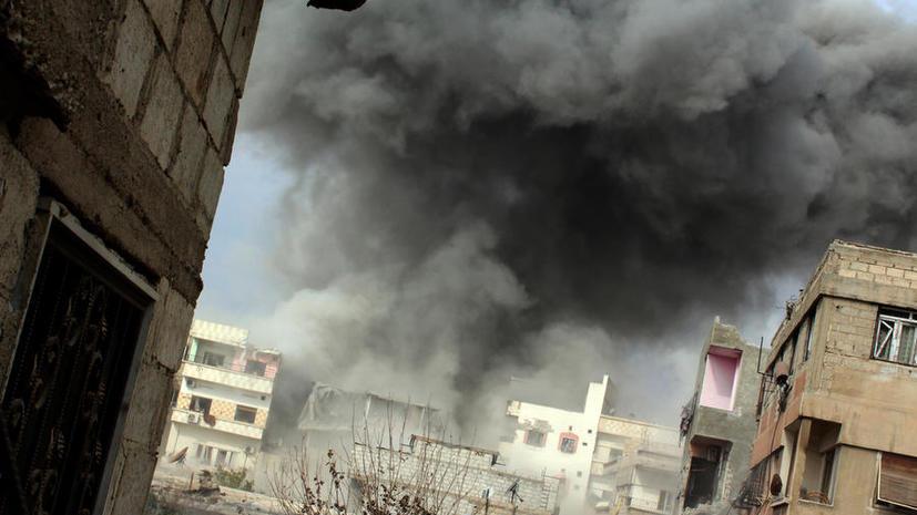 350 боевиков оппозиции сдались сирийским властям