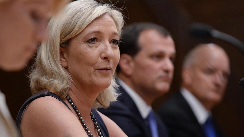 Марин Ле Пен удивлена решением МИД Франции запретить депутатам встречи с Сергеем Нарышкиным