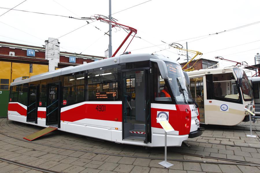 Антипробуксовучная система и климат-контроль появятся на всех трамваях и автобусах Москвы