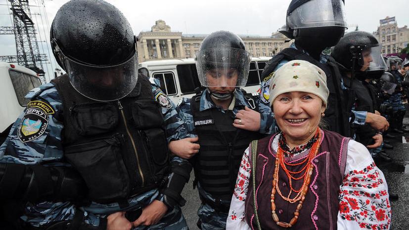 За разговор на русском на Украине можно будет угодить в тюрьму