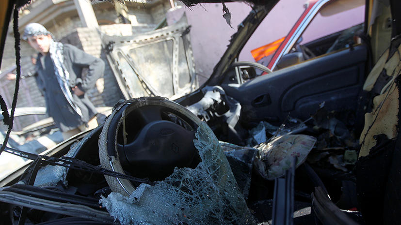 Тройной теракт в Багдаде унес жизни 17 человек