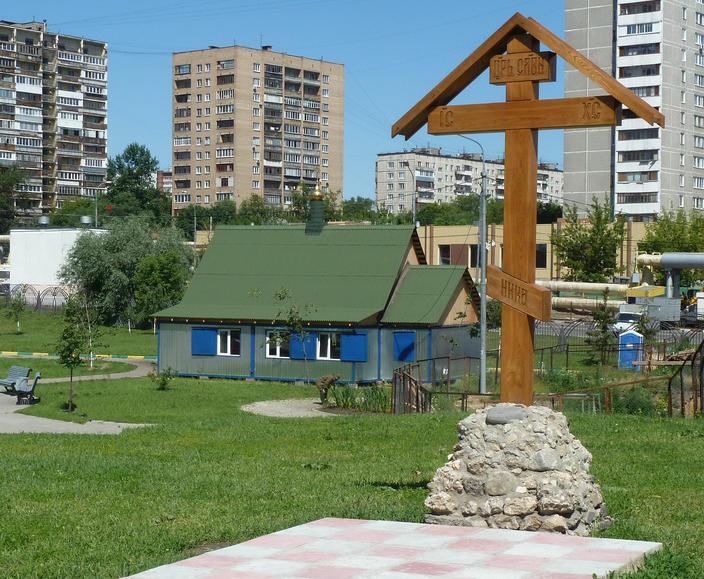 Вандалы спилили поклонный крест в Люблине