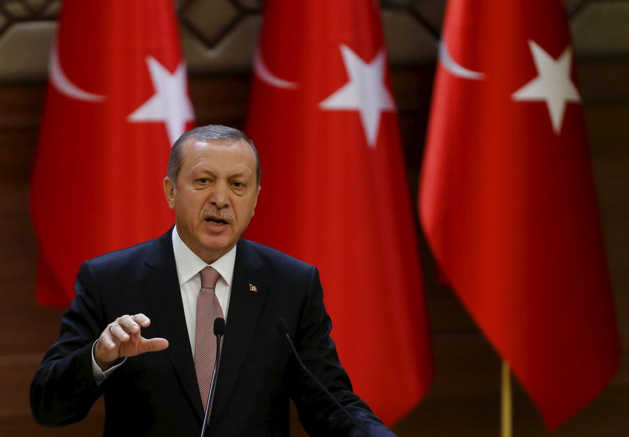 Эрдоган провозгласил право Турции вести военные операции за рубежом