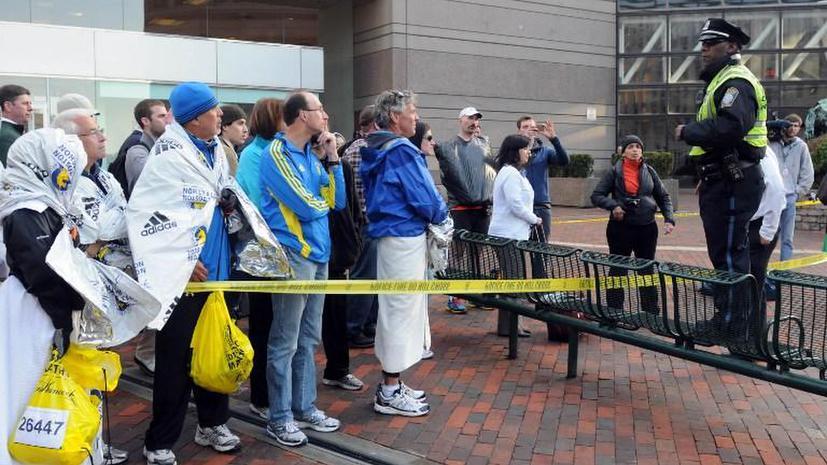 Место взрыва в Бостоне будет оцеплено несколько дней