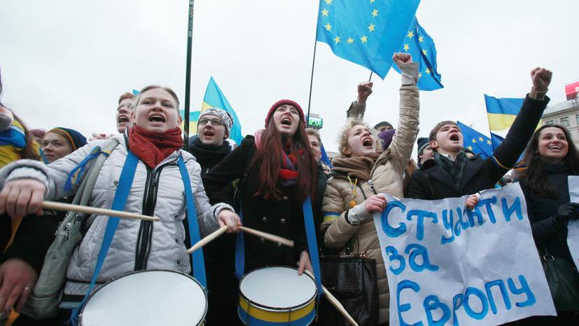 Из-за сторонников евроинтеграции в Киеве пришлось ограничить движение