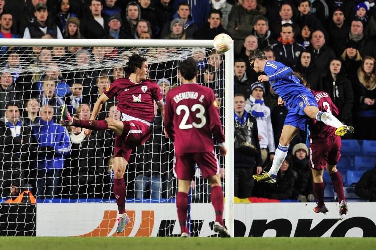 «Рубин» уступил «Челси», но не потерял шансов на выход в полуфинал Лиги Европы