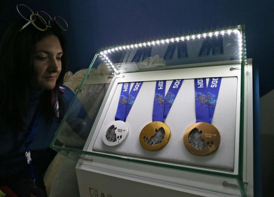 Дом болельщиков в Сочи посетили олимпийские чемпионы
