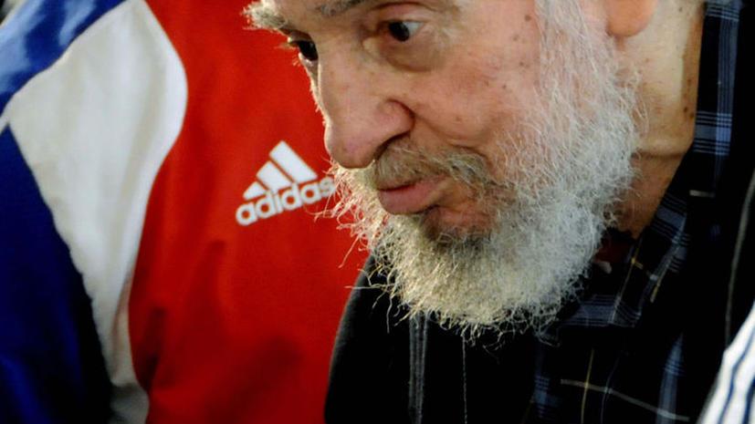 Фидель Кастро впервые за два года появился на публике
