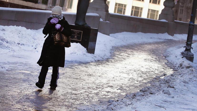 Надвигающиеся морозы грозят парализовать жизнь на юге США