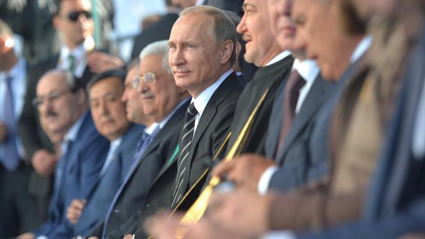 СМИ: В отличие от «западных крестоносцев», Владимир Путин умеет обращаться с мусульманами