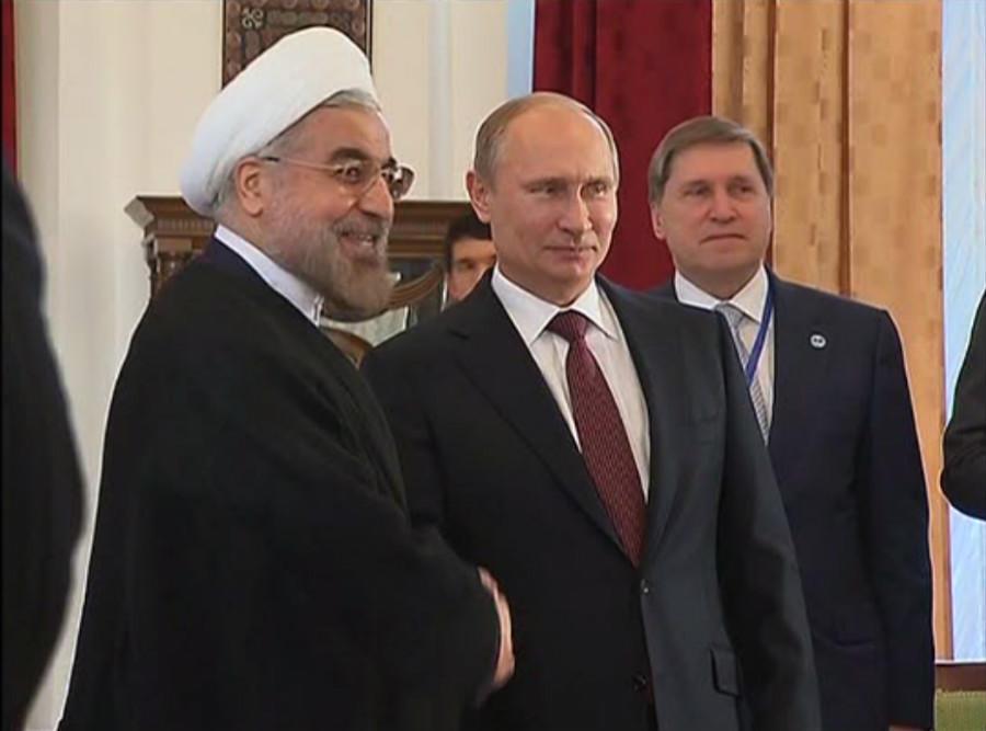 Президент Ирана: Инициатива России по Сирии избавит мир от угрозы новой войны