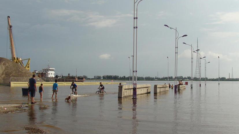 От паводка на Дальнем Востоке пострадали уже 50 тыс. жителей