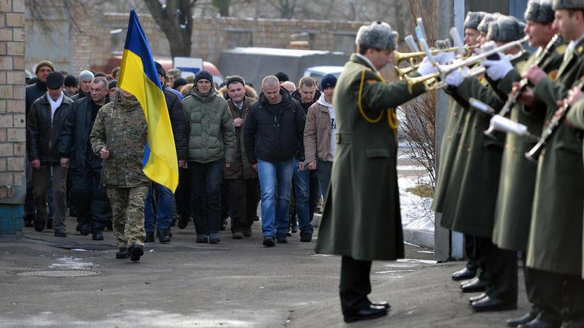 Провальная мобилизация: украинцы не желают идти воевать