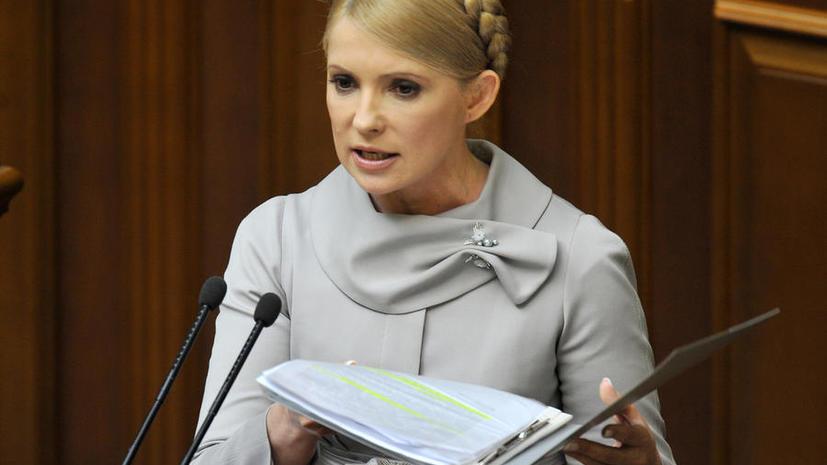 Юлия Тимошенко начинает набирать собственное ополчение, его представители будут вооружены