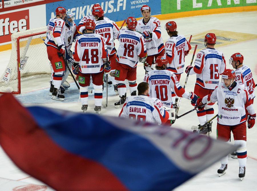 Сборная России стала второй на Кубке Карьяла
