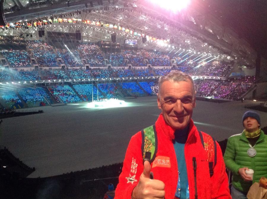 68-летний волонтёр из Франции добрался до Сочи на велосипеде и не пожалел
