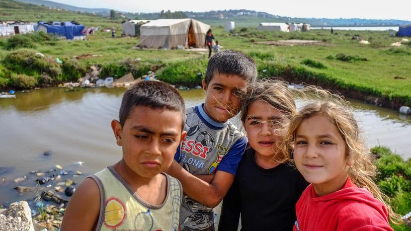 UNICEF: Число детей-беженцев из Сирии превысило 1 млн