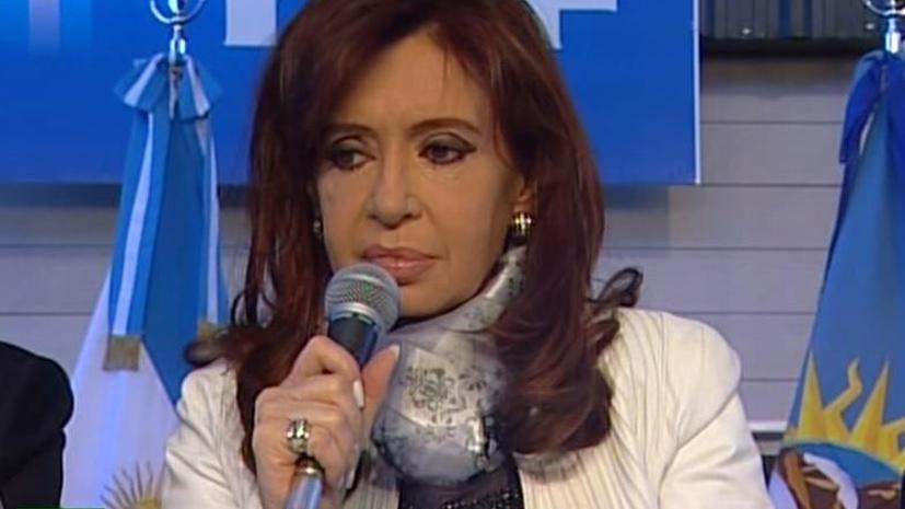 Кристина Киршнер: Аргентинцам понравится смотреть RT