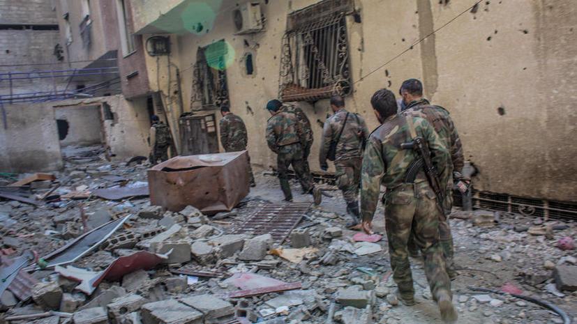 Дамаск подвергается миномётным обстрелам, есть жертвы