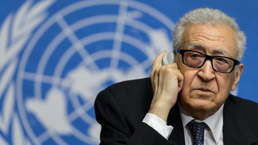 Лахдар Брахими: Конференция «Женева-2» не будет перенесена на более поздние сроки