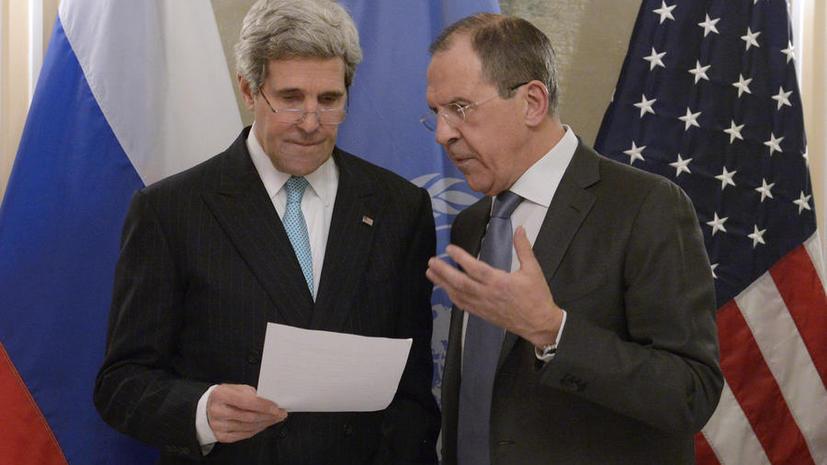 США предложили России новый формат переговоров по Сирии с участием Ирана