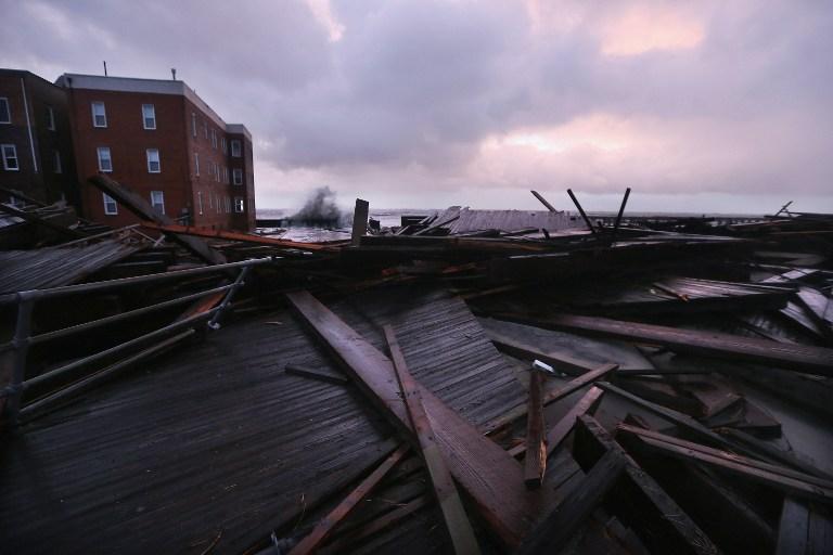 В Нью-Джерси эвакуированы более тысячи человек из-за прорыва дамбы
