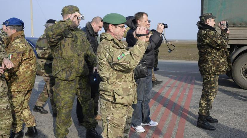 Наблюдатели из ОБСЕ прибыли в Сумскую область на Украине