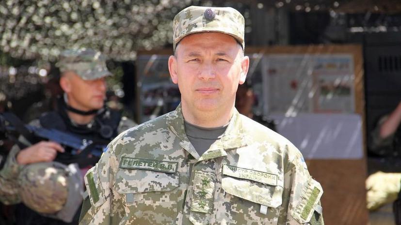 Министр обороны Украины заявил, что Россия угрожает Киеву ядерным оружием