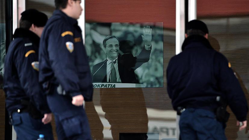 Неизвестные обстреляли офис премьер-министра Греции