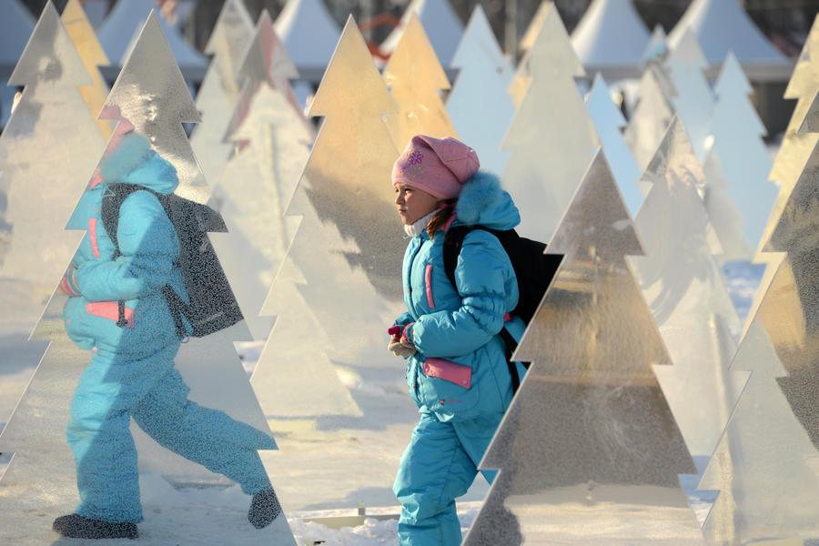 К концу недели в Москве потеплеет до минус 14 градусов